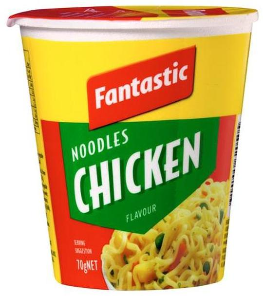 Fantastic CHICKEN CUP NOODLES 70g