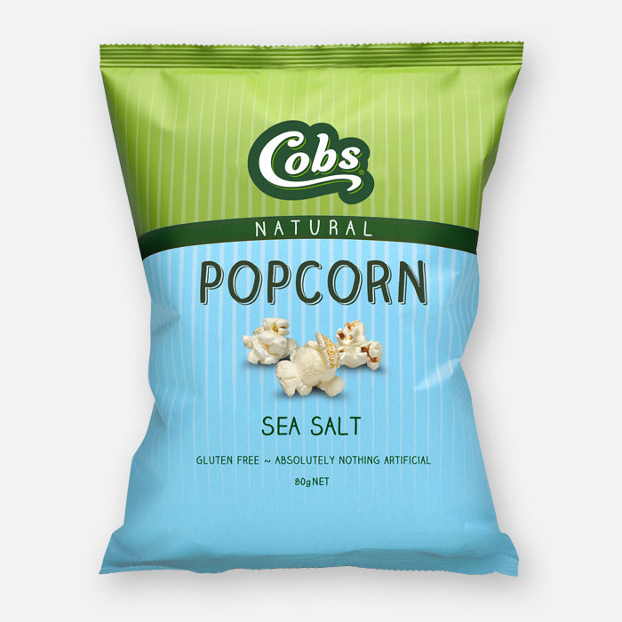 Cobs Popcorn Natural SEA SALT POPCORN 80g