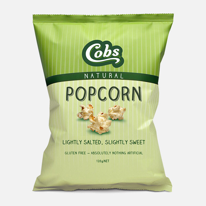 Cobs Popcorn Natural SWEET SALTY POPCORN 120g