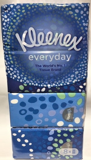 Tissues Kleenex Pocket Pack 8's