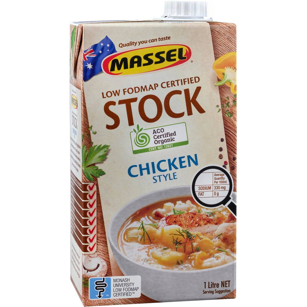 Massels ORGANIC LIQUID 1LITRE STOCK CHICKEN