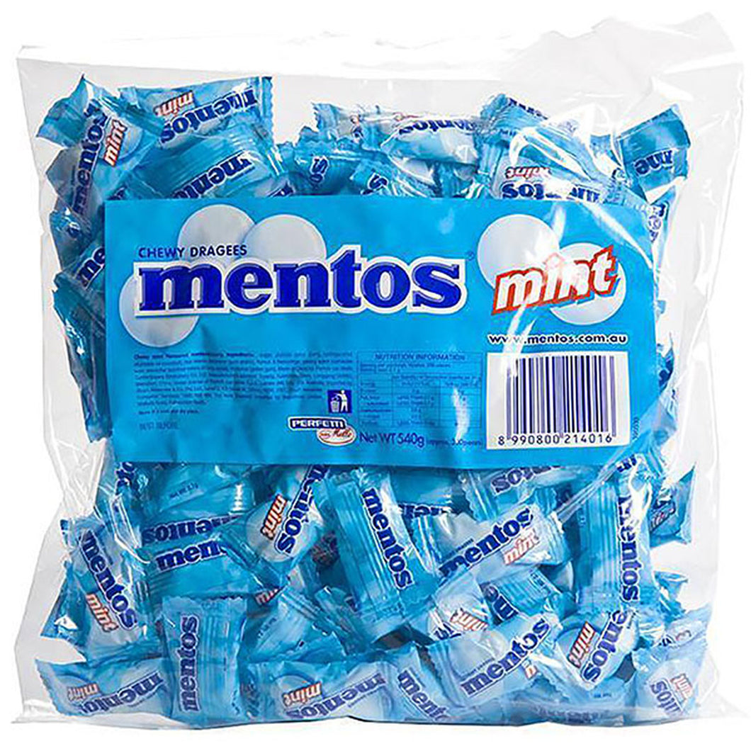 MENTOS MINT 200 piece Individually Wrapped
