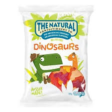 Natural Confectionery 260g DINOSAURS