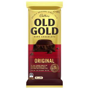 CADBURY Block Chocolate OLD GOLD ORIGINAL DARK CHOCOLATE 180g