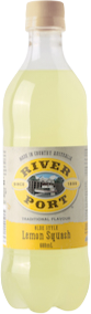River Port Soft Drink LEMON SQUASH 12 x 600ml Case