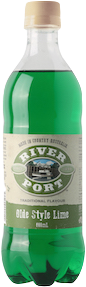 River Port Soft Drink OLD STYLE LIME 12 x 600ml Case