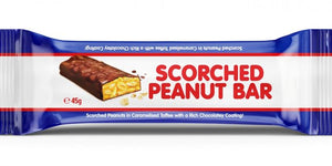 Chocolate SCORCHED PEANUT BAR 45g