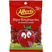 Allens Hang Bags RIPE RASPBERRIES 190g