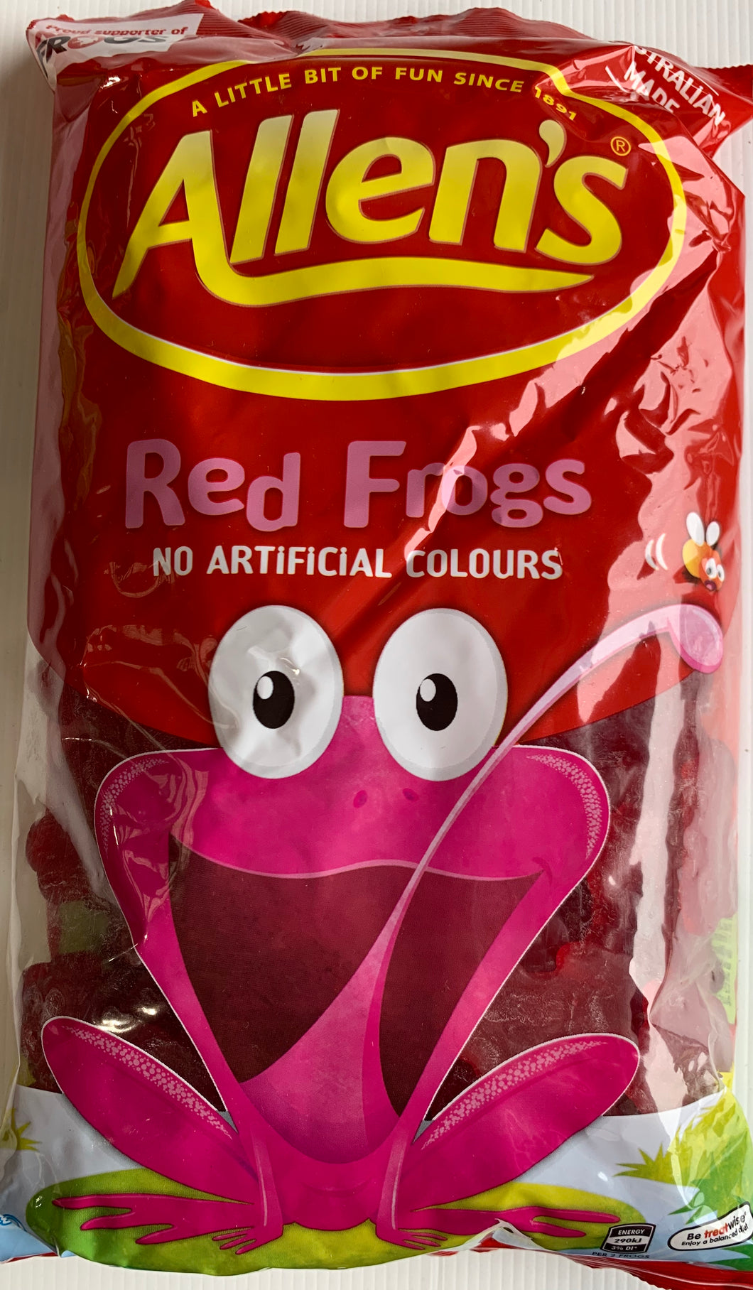 Allens 1.3kg Lollies RED FROGS