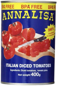 Annalisa DICED CHOPPED TOMATOES 400g