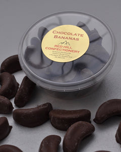 Red Hill Confectionery - Milk Chocolate Coated Bananas 150g Tub