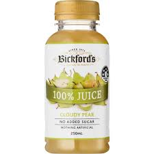 Bickfords 100% PEAR JUICE 250ml