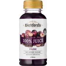Bickfords 100% PRUNE JUICE 250ml