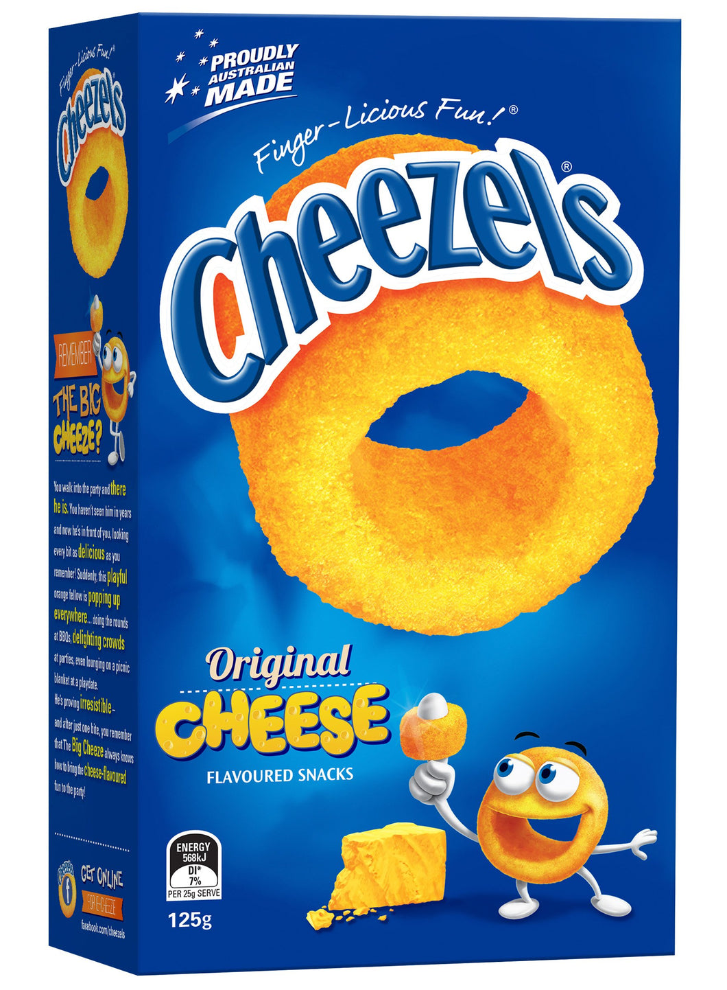 CHEEZELS CHEESE Chips 125g