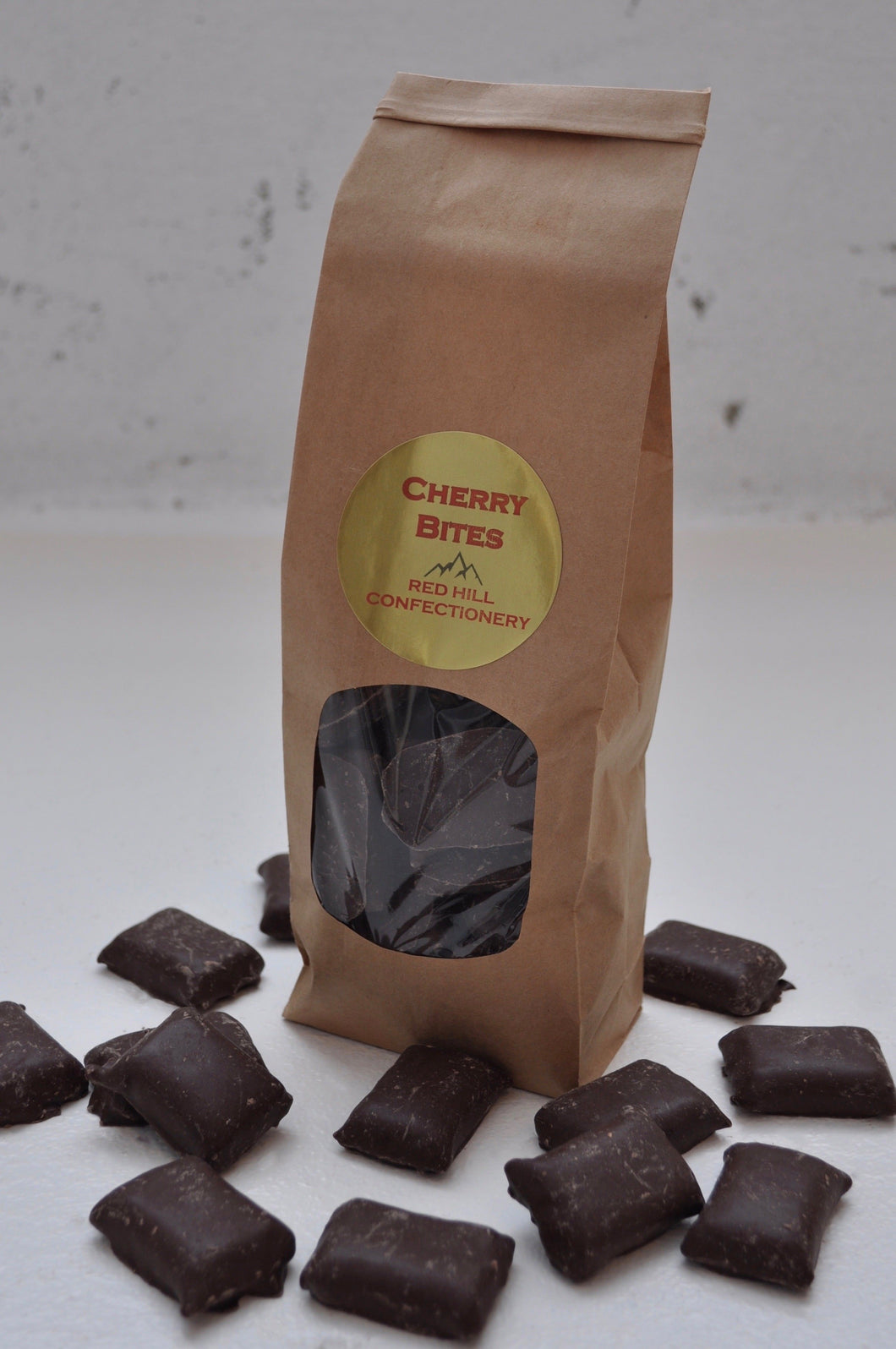 Red Hill Confectionery - Chocolate Cherry Bites 300g Bag