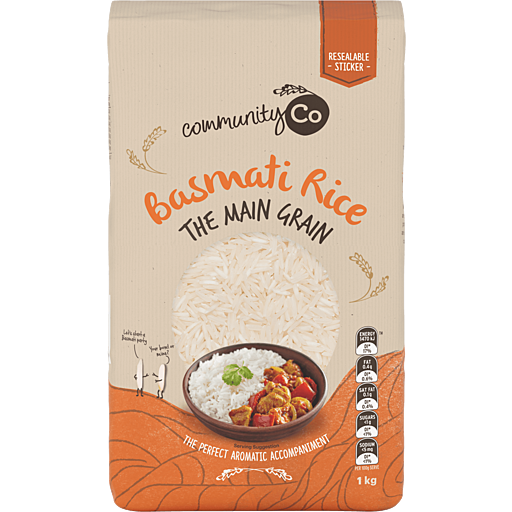 Community Co BASMATI RICE 1kg