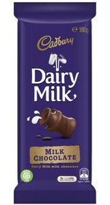 CADBURY Block Chocolate DAIRY MILK 180g