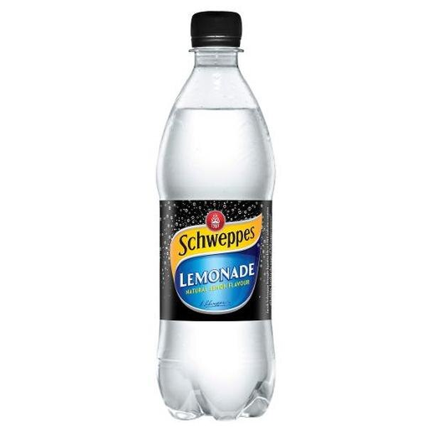Schweppes LEMONADE 600ml Bottle