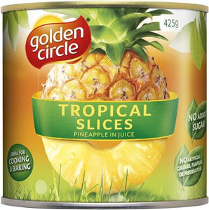 Golden Circle TROPICAL PINEAPPLE SLICES 425g