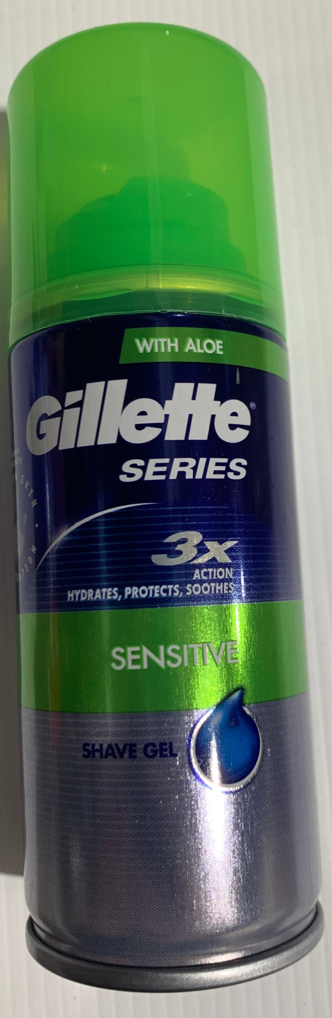 Gillette 3X Sensitive SHAVE GEL 75ml