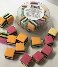 Load image into Gallery viewer, Red Hill Confectionery - Licorice Allsorts 200g Tub