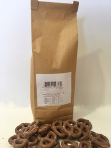 Red Hill Confectionery - Chocolate Coated Pretzels 250g Bag