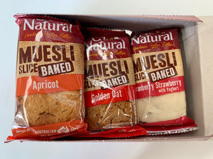 Go Natural BAKED MUESLI BARS - MIXED BOX 12 x 90g