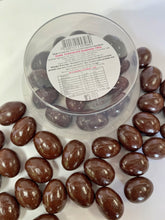 Load image into Gallery viewer, Red Hill Confectionery - Dark Chocolate Coated Almonds 150g Tub