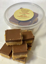 Load image into Gallery viewer, Red Hill Confectionery - Hazelnut Caramel Fudge 160g Tub