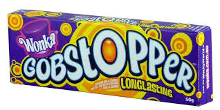 WONKA GOBSTOPPERS Long Lasting Candy 45g Box