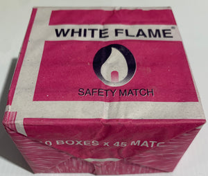 White Flame Safety MATCHES 10 x 45 Packs