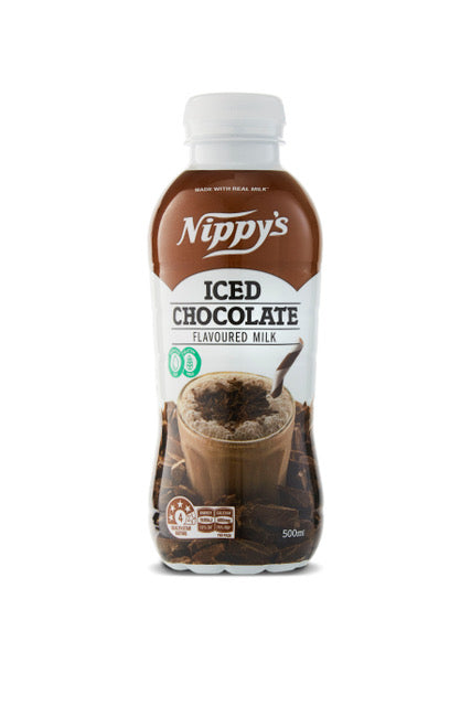 Nippy's ICED CHOCOLATE Long Life Flavoured Milk 12 x 500ml Case