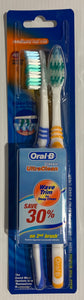 Oral B 2 Pack TOOTHBRUSHES Classic Ultra Clean