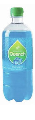 Quench 600ml 10% Fruit Juice with Carbonated Water BLUE HEAVEN Bottle