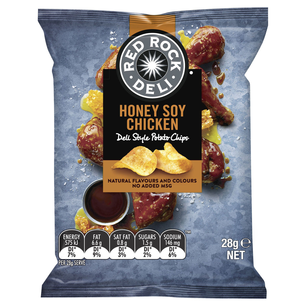 Red Rock Deli HONEY SOY CHICKEN Chips 28g