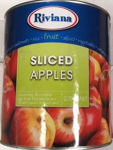 Riviana SLICED APPLES 2.75kg