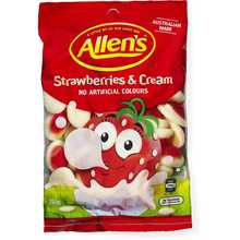 Allens Hang Bags STRAWBERRY & CREAM 190g