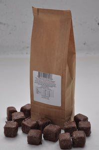 Red Hill Confectionery - Milk Chocolate Coated Rose Turkish Delight 300g Bag