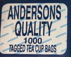 Andersons PURE CEYLON TEA CUP BAGS BOX OF 1000