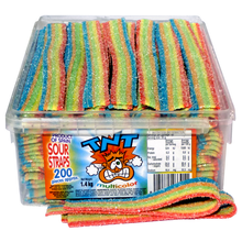 TNT Sour Straps MULTI COLOR 1.4kg Approx 200