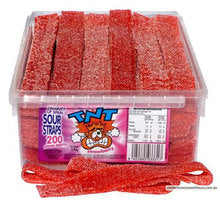 TNT Sour Straps STRAWBERRY 1.4kg Approx 200