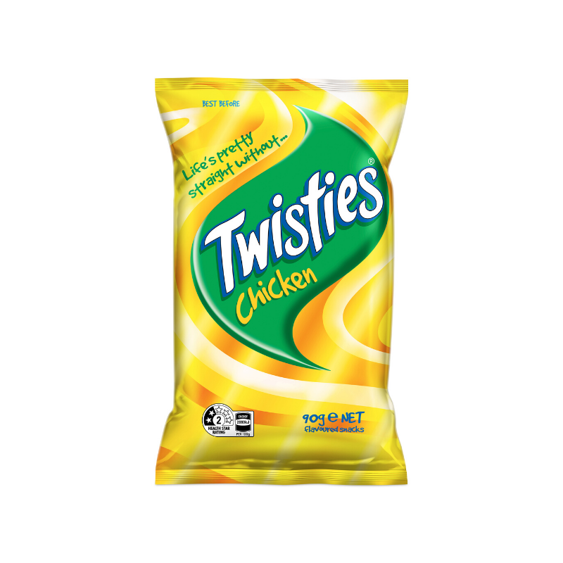 TWISTIES CHICKEN Chips 90g