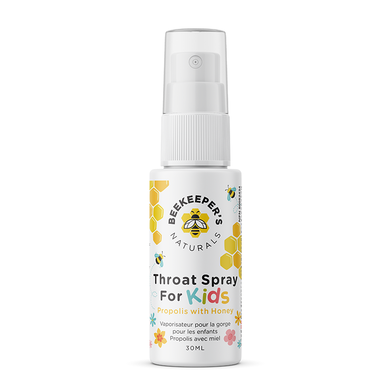 Load image into Gallery viewer, Beekeeper's Naturals Throat Spray for Kids