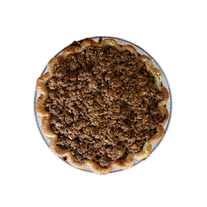 Apple Crumble Pie 10""