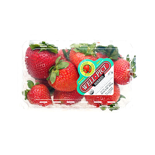 Organic Strawberries - per 1lb pack