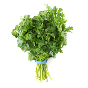 Organic Italian Parsley - bunch