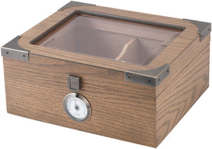 Humidor Newport Glass Top 25 WO