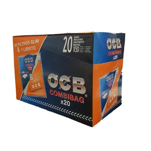 OCB COMBIBAG FILTERS+PAPERS
