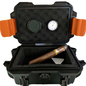 Travel Humidor Mel Blue