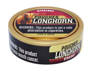 Longhorn Pouch Straight